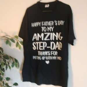 Father's  graphic t-shirt NWOT
